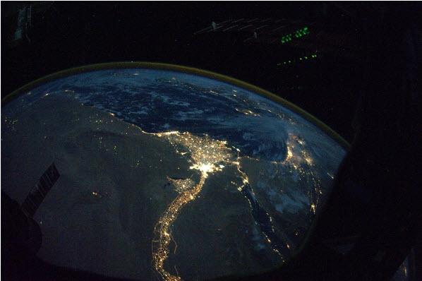 Egito a noite